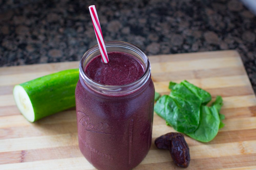 purple power smoothie recipe by dr joel fuhrman