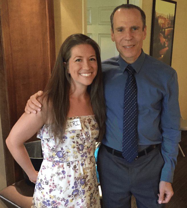 cheri and dr. furhman at the health, healing and happiness conference in las vegas 2016