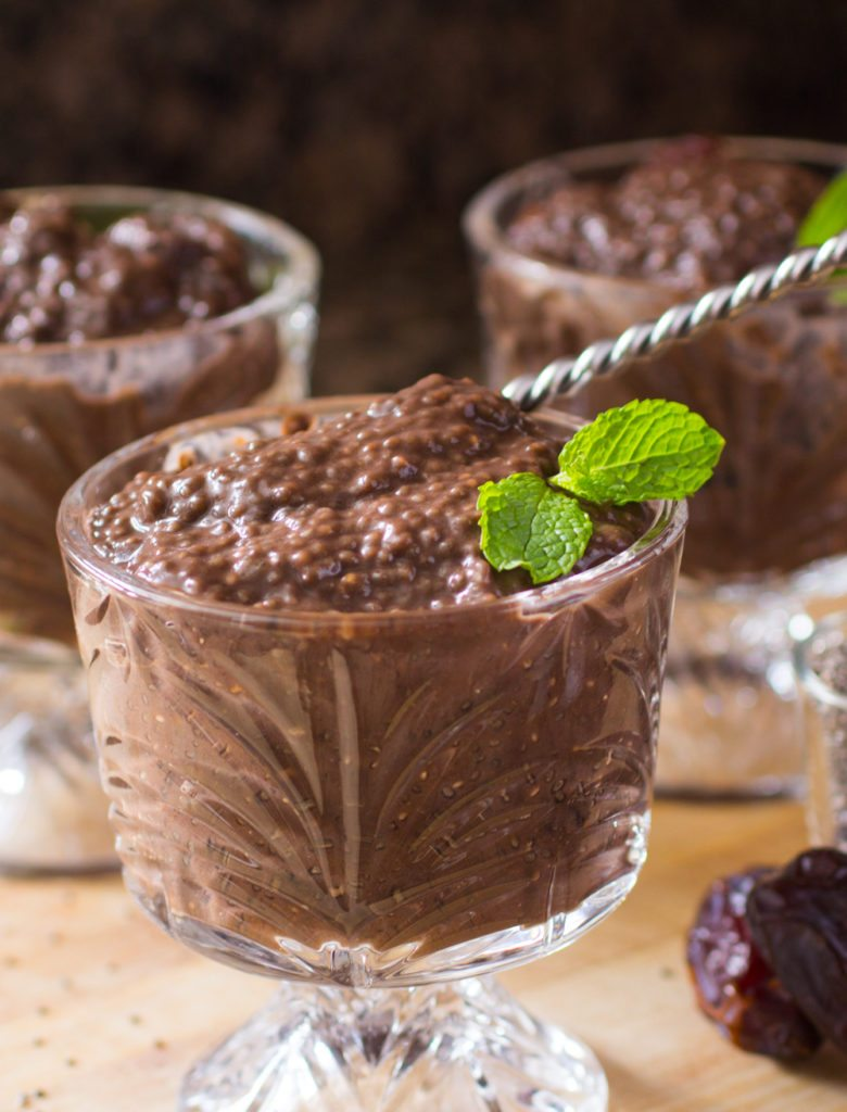 Chocolate Chia Seed Pudding Recipe